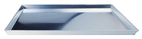 Pentole Agnelli COAL49/345 Horno Rectangular Aluminio - Bandeja de horno (Pizza, Horno, Rectangular, Aluminio, Aluminio, 450 mm)