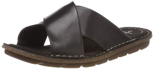 Clarks Damen Blake Sydney Pantoletten, Schwarz (Black Leather), 39 EU - Clarks Pantoletten Für Damen