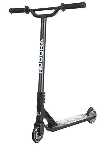Preisvergleich Produktbild HUDORA Stunt-Scooter XY-12 schwarz - 14121 - Freestyle Tretroller