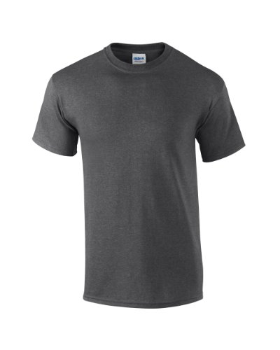 Gildan Ultra Cotton TM Adult T-Shirt Charcoal S