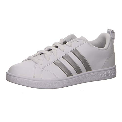 adidas Damen Vs Advantage Tennisschuhe, Weiß (Ftwr White/Ftwr White/Grey Two F17), 38 2/3 EU