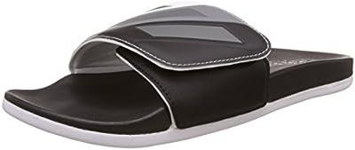 adidas adilette CF ultra ADJ - Chanclas para Hombre, Negro - (NEGBAS/HIEMET/FTWBLA) 46
