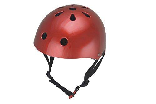 Kiddimoto KMH038M - Helm, Größe M, rot