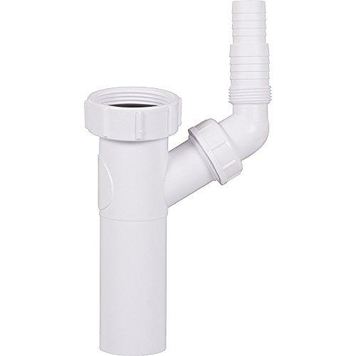 Scanpart 1130705505 Waschmaschinenzubehör/T-Stück/Zum Anschluss der Ablaufschläuche zweier Waschmaschinen oder Spülmaschinen