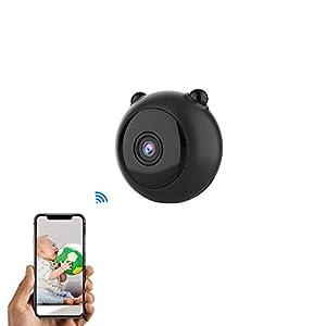 camaras espia ocultas precios: Mini Cámara Espía Oculta AOBO 1080P HD WiFi Cámara Portátil con Visión Nocturna ...