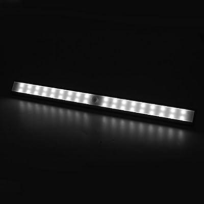 1byone LED Lichtleiste mit Bewegungsmelder, Schranklicht Aufladbar ...