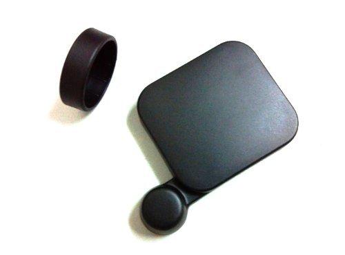JMT 1 pezzo Copriobiettivo della fotocamera e custodia compatibile con custodia impermeabile Gopro Hero3
