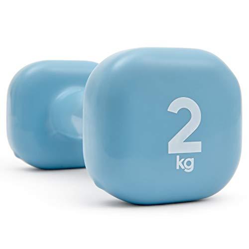 Reebok Damen Training Range Dumbbell-Blue, 2 kg, Dumbbell-2Kg (Reebok-finish)