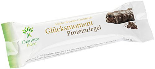 E Charlottes (Charlotte Eden Glücksmoment Proteinriegel Schoko-Brownie, 21er Pack(21 x 45 g))