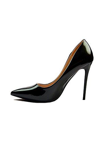 Escarpins Glamour Vernis Dégradé Noir Noir