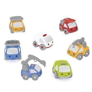 EUREKAKIDS Eureka Kids- Kit de 7 vehículos, Mini Giants (62650563)