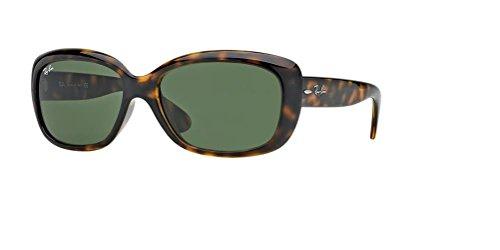 Ray-Ban RB4101 JACKIE OHH 710 58M Light Havana/Crystal Green Sunglasses