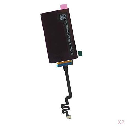 D DOLITY 2 x LCD Display Touch Glas Digitizer Bildschirm Montage Rahmen mit Reparatur Werkzeug Schraubendreher Öffnungswerkzeug für Apple iPod Nano 7 (Ipod Touch Reparatur-teile)