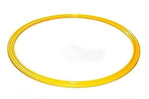 agility sport pour chiens - cerceau Ø 40 cm, jaune - 1x R40y