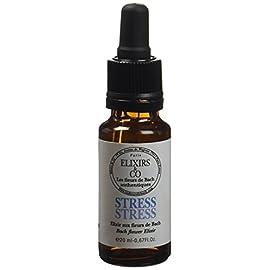 Elixirs & Co – Elixir Composé aux Fleurs de Bach Prêt à l'Emploi – Stress – Les Fleurs de Bach – Bien être – Vegan – Bio…