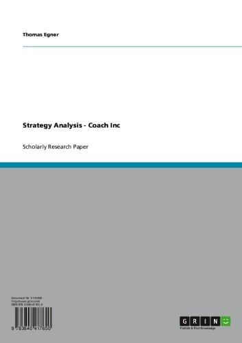 strategy-analysis-coach-inc