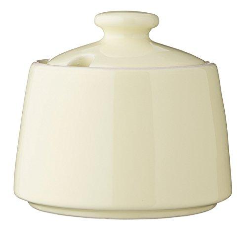 Bloomingville - Zuckerdose - Alberte Sugar Bowl - Gelb - Ø 11,5cm x 6,5cm - Keramik