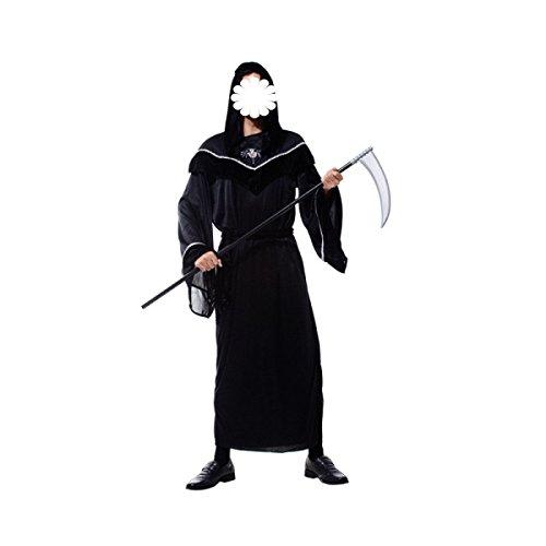 �nner-Kleidung Kostüme Das Böse Engel Des Satans Kleidung Geister Tod Vampire Dämonen Kleidung,A-170-185cm (Gemütliche Teufel Kostüme)