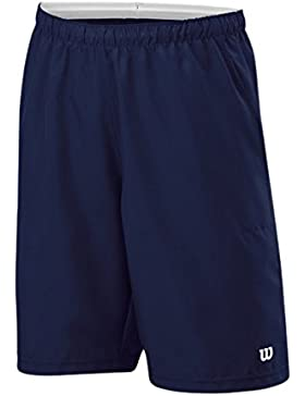 Wilson B Jr. Rush 8 woven Short NAVY WIL - Pantalón corto unisex, color azul, talla SM