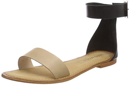 Vero Moda Vmelsa Leather, Sandales Bride Cheville Femme