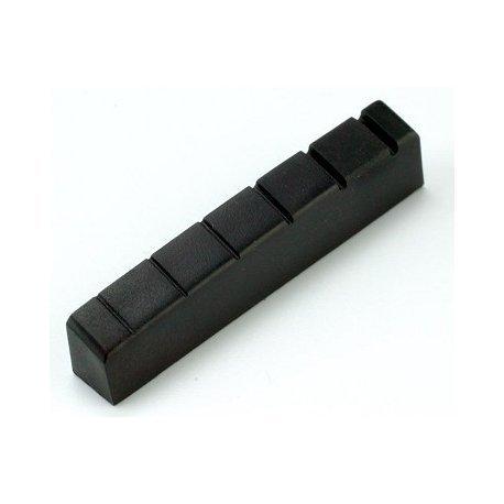 Cejilla negra para guitarra tipo Gibson de grafito 4,3x 0,8x 0,5cm 547040