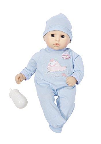 Zapf Creation 700341 - My First Baby Annabell Bruder Puppe mit Schlafaugen