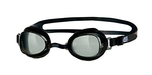 Zoggs Otter Gafas de natación, Adultos Unisex, Negro/Humo, Talla única
