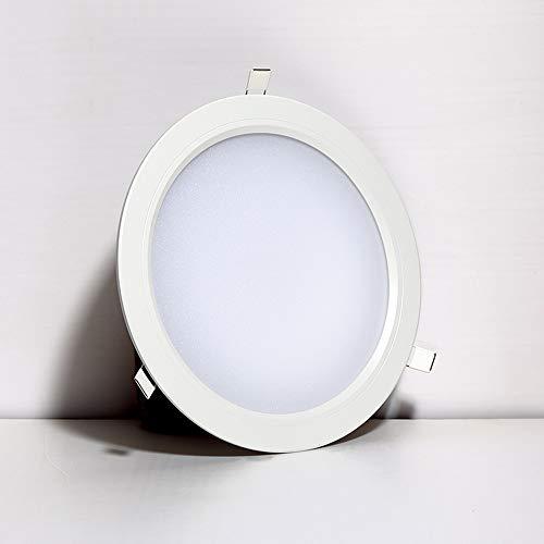 Mogicry 10 Pulgadas 18W Aluminio Redondo Downlight Empotrado iluminación Comercial del hogar...