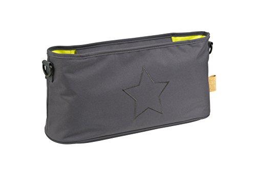 Preisvergleich Produktbild Lässig Casual Buggy Organizer Kinderwagenorganizer-/tasche mit Reißverschluss, Star, ebony