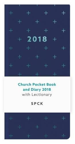 Church Pocket Book & Diary 2018: Blue Geo Cross
