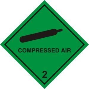 Smarts-Art Panneau avertisseur à Air comprimé auto-adhésif 100 X 100 mm