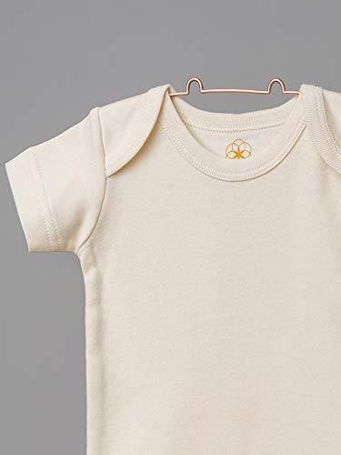 Organic by Feldman Unisex Baby Body Kurzarm aus Bio Baumwolle, GOTS Zertifiziert, Schönheit der Natur (50/56) - 2
