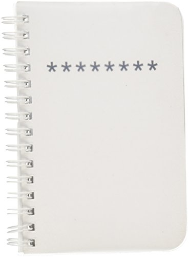 BookFactory¨ Password Journal / Password Diary / Mini Pocket Passwords Notebook, 120 Pages - 5Ó x 7