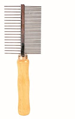 Trixie Medium and Wide Teeth Double-Sided Comb, 17 cm by Trixie