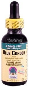 Nature's Answer Blue Cohosh Root Alcohol Free Test
