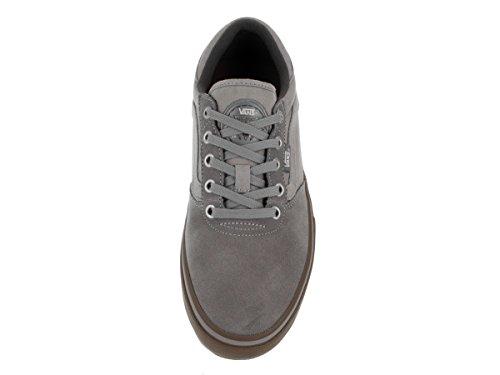 Vans Herren M Gilbert Crockett P Low-Top (chambray) grey/gum