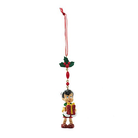 Kostüm World Disney Anna - Unbekannt Pinocchio Weihnachten baumeln Dekoration, Disneyland Paris, offizielles Disney Weihnachten Ornament