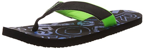 Reebok Men's Print Flip Black, Blue Sport and Neon Green Flip-Flops and House Slippers - 9 UK  available at amazon for Rs.629