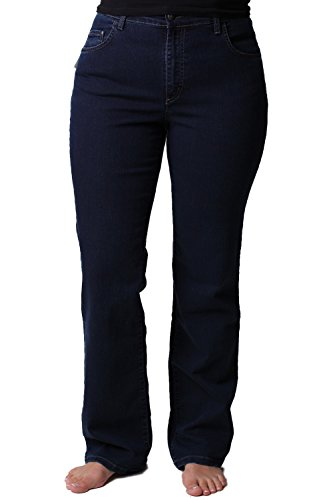 Pioneer Damen Straight Leg Jeanshose Betty dark-blue(61)