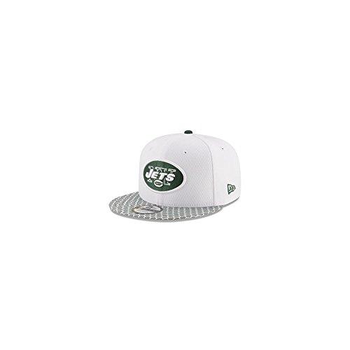 New Era Men Caps Snapback Cap NFL On Field NY Jets 9Fifty White S  f42f90d7d66