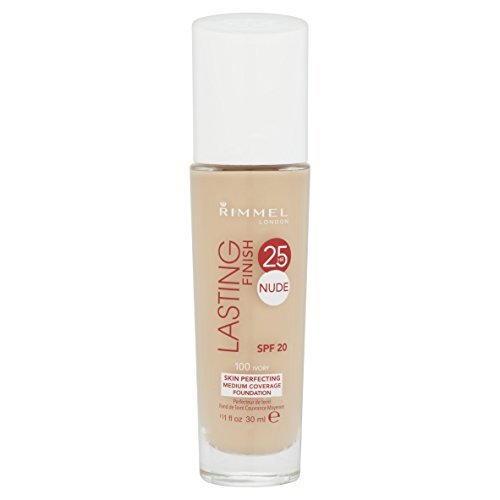 Rimmel Lasting Finish Nude Foundation - Ivory