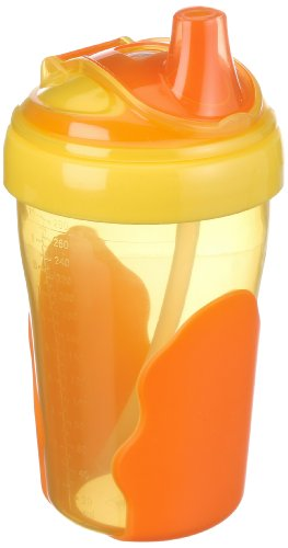 Vital Innovations Kinder Strohhalmbecher - 280ml - orange