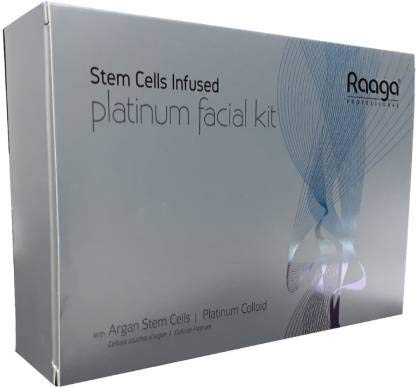 Raaga Professional Platinum Facial Kit-With Platim Colloid