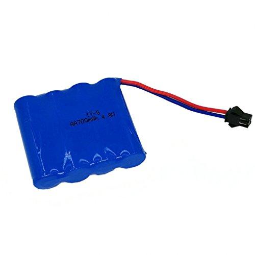 Batteria Ricaricabile Batteria 4.8V 700mAh 55x48x15mm Novità per auto telecomandate Rock Craw