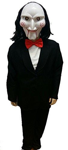 Disfraz de Muñeco Asesino Infantil - Niño, 10, Halloween
