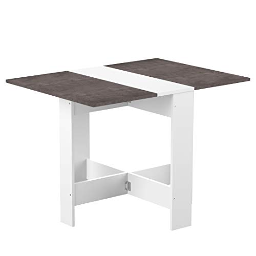 Symbiosis trick , tavolo pieghevole, bianco, 73.4 x 103 x 76 cm