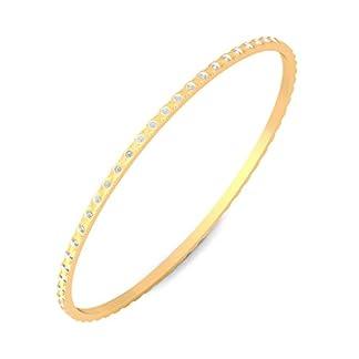 BlueStone 18k (750) Yellow Gold Drina Bangle