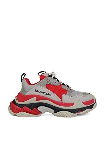 Balenciaga Damen 524039W09oh6495 Grau Leder Sneakers