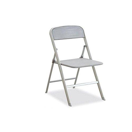 INSIDE Chaise pliante ALU grise