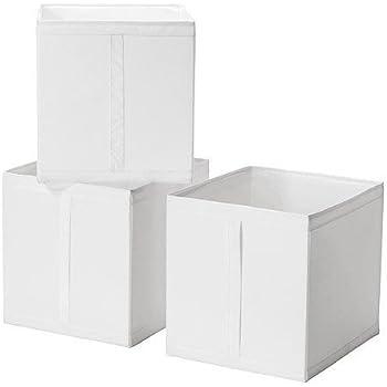 ikea skubb box in wei 31x34x33cm passend f r pax schrank k che haushalt. Black Bedroom Furniture Sets. Home Design Ideas